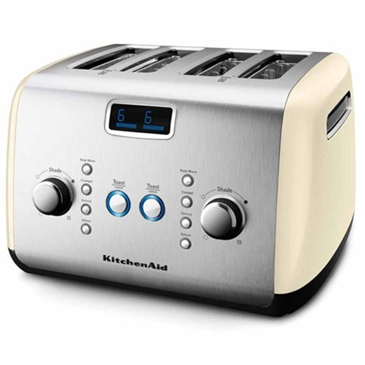 Kitchenaid Almond Cream Artisan 4 Slice Toaster