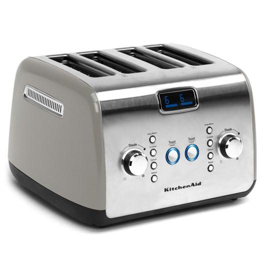 KitchenAid Contour Silver Artisan 4 Slice Toaster