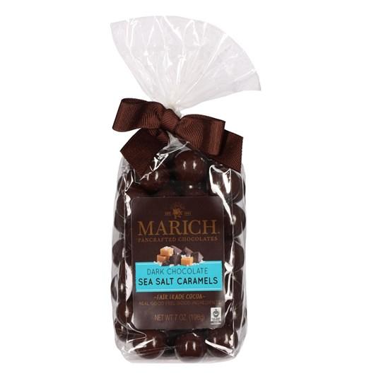 Marich Dark Chocolate Sea Salt Caramels 198g