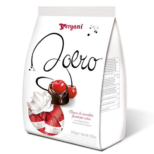 Vergani Dark Chocolate  Cherry Liqueurs 200g