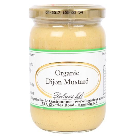 Delouis  Organic Dijon Mustard 200g
