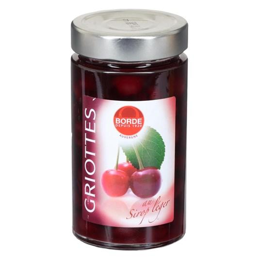 Borde Pitted Morello Cherries 345ml