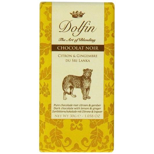 Dolfin Dark Lemon and Ginger from Sri Lanka 30g