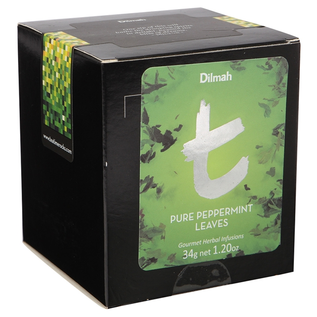 Dilmah Pure Peppermint Leaves Loose Leaf Refill Pack 34g - na