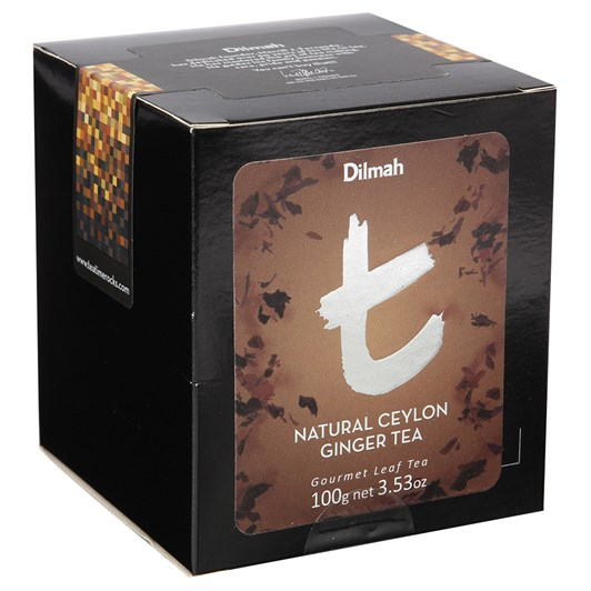 Dilmah Natural Ceylon Ginger Tea Loose Leaf Refill Pack 100g