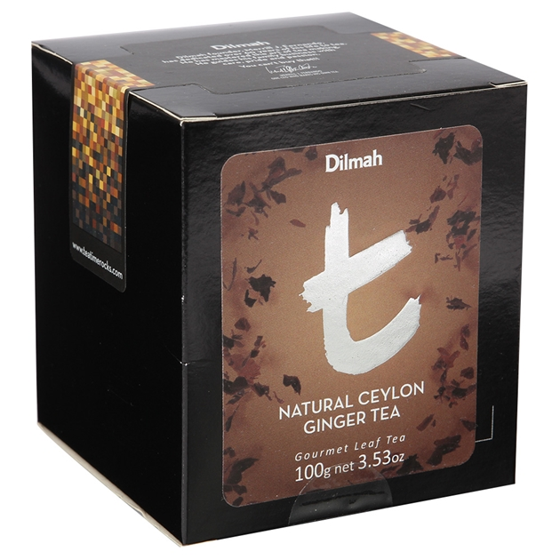 Dilmah Natural Ceylon Ginger Tea Loose Leaf Refill Pack 100g -