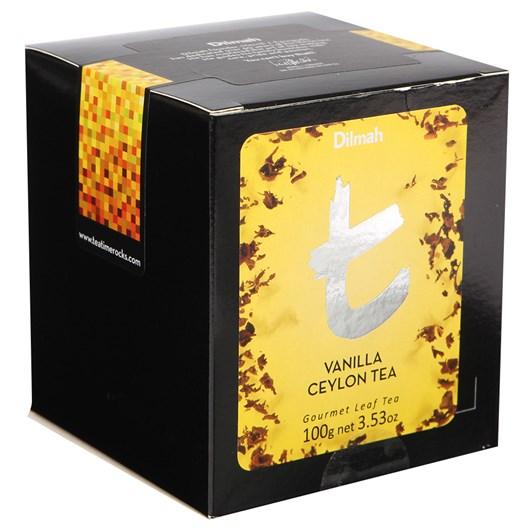 Dilmah Vanilla Ceylon Tea Loose Leaf Refill Pack 100g