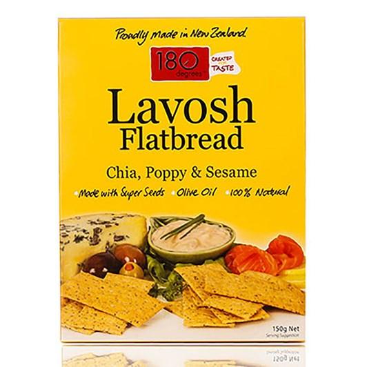 Lavosh Chia Poppy Sesame 150g