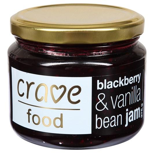 Crave Blackberry & Vanilla Bean Jam 375g