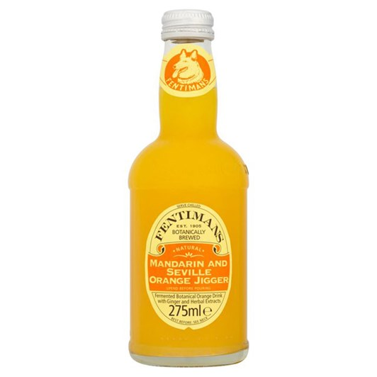 Fentimans Botanically Brewed Mandarin & Seville Orange 275ml