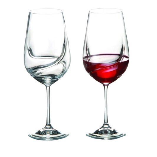 Bohemia Turbulence Goblet 550ml Pair