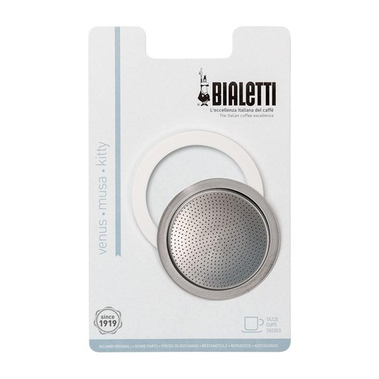 Bialetti Ring/Filter Pack For SS Model 10 Cup