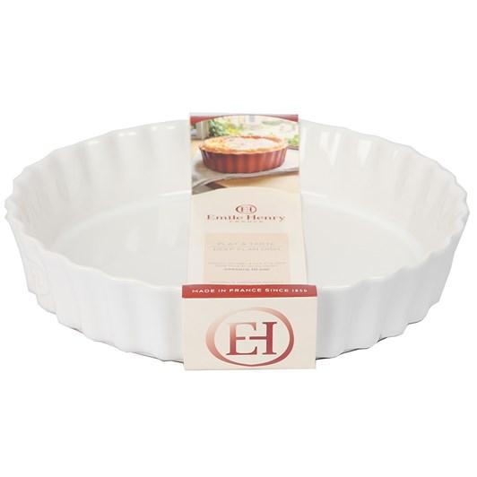 Emile Henry Deep Flan Dish Flour 28cm