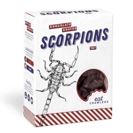 eat Crawlers Chocolate Coated Scorpions