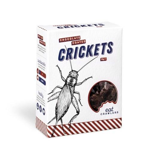 eat Crawlers Chocolate Coated Crickets