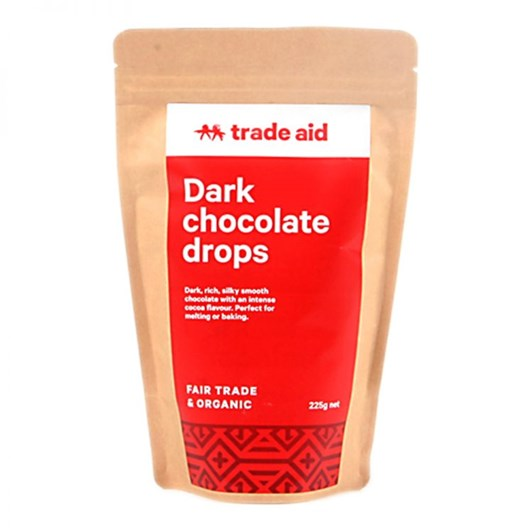 Trade Aid Chocolate Drops 55% Cocoa 225g