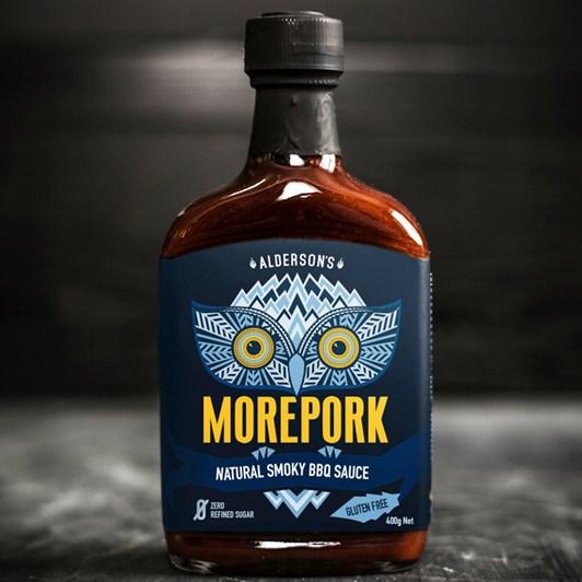 Alderson's Morepork Natural Smoky BBQ Sauce 375ml