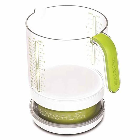 Salter Add & Weigh Jug Kitchen Scale