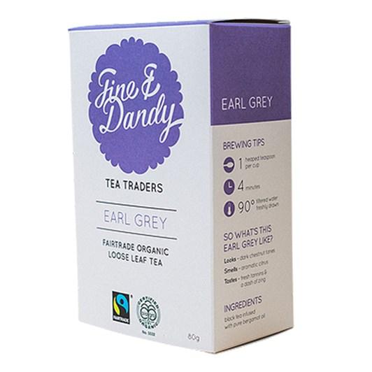 Fine & Dandy Earl Grey Tea 80g