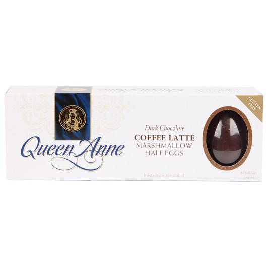Queen Anne Dark Chocolate Coffee Marshmallow Easter Egg 200g