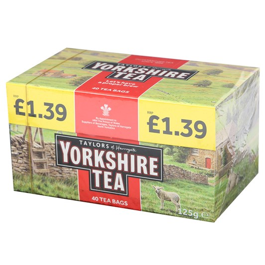 Taylors Yorkshire Teabags 40s