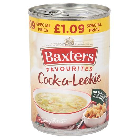 Baxters Cock-A-Leekie Soup 400g