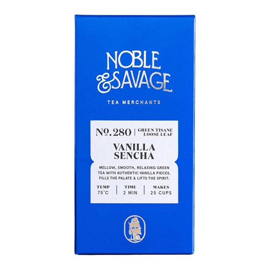 Noble & Savage Vanilla Sencha Green Tisane 60g