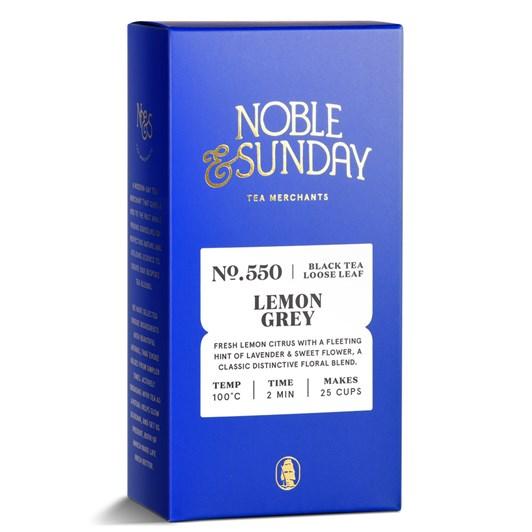 Noble & Sunday Lemon Grey Black Blend 65g