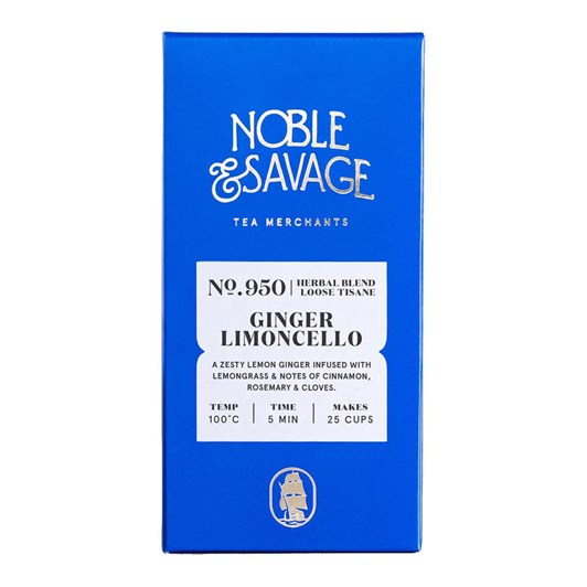 Noble & Savage Ginger Limoncello Herbal Blend 45g
