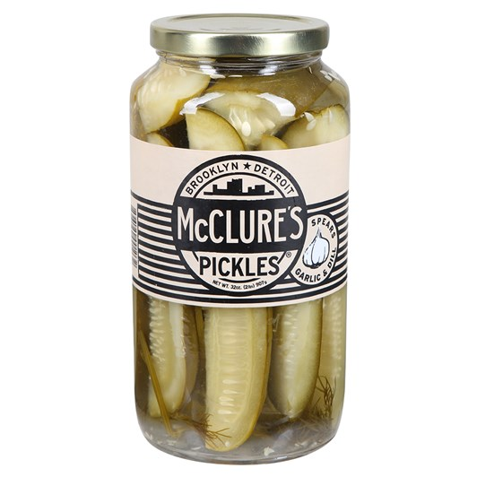 McClure's Garlic & Dill Pickle Spears 907g