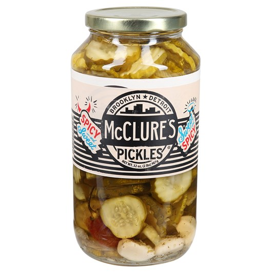 McClure's Sweet And Spicy Crinkle Cut Pickles 907g