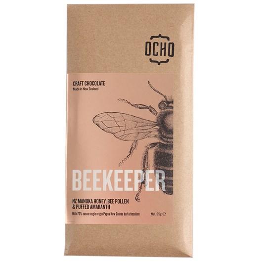Ocho Beekeeper Chocolate Bar 95g