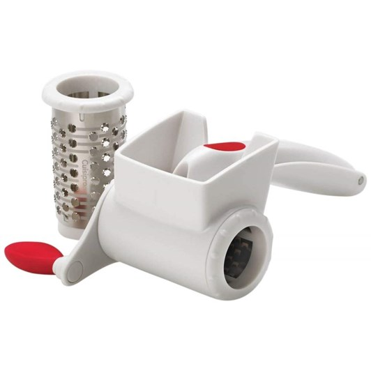 Cuisipro Rotary Dual Grater - White