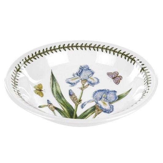 Portmeirion Botanic Garden Pasta Bowl Iris 20cm