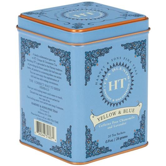 Harney HT Yellow & Blue Tin 20 Sachets