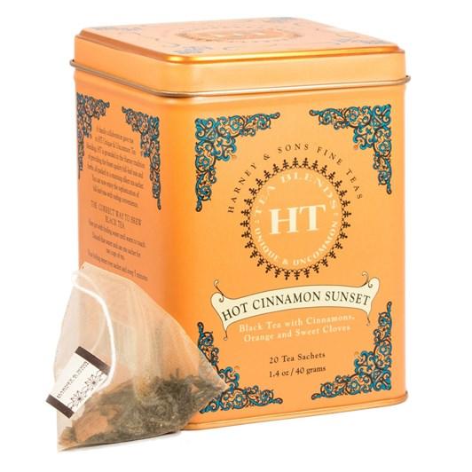 Harney & Sons Hot Cinnamon Sunset Tin 20 Sachets