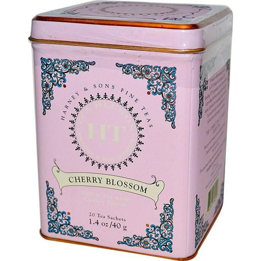 Harney & Sons HT Cherry Blossom Tin 20 Sachets