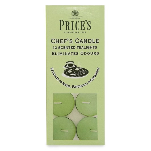 Prices Chef Tealights 10 Pack