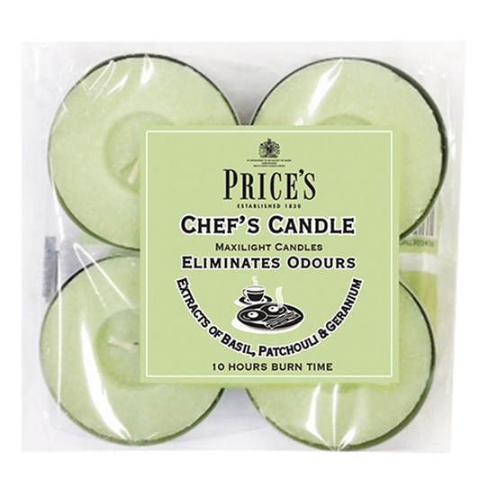 Prices Chef Fresh Air Maxi Tealight 4 Pack