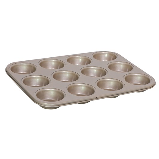 International Bakeware Company Gold Standard Muffin Pan 12 Pods 35x27cm
