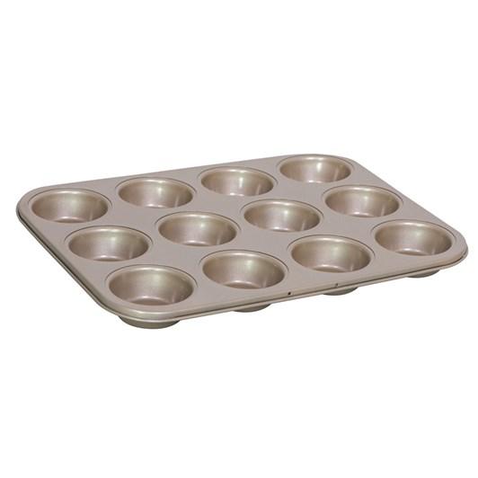 International Bakeware Company Gold Standard Muffin Pan 12 Pods 35x27cm