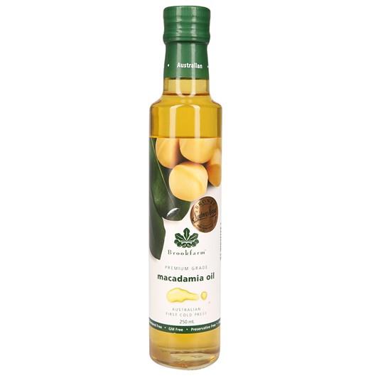 Brookfarm Natural Macadamia Oil 250ml