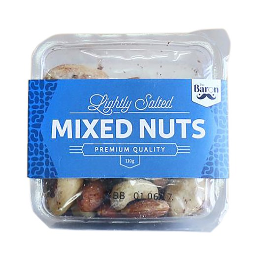 The Baron Lightly Salted Mixed Nuts 110g