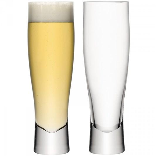 LSA Bar Lager Glass 550ml Set of 2