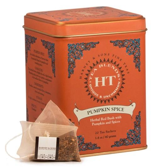Harney & Sons HT Pumpkin Spice Tin 20 Sachets