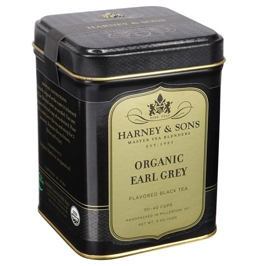 Harney & Sons Organic Earl Grey Loose Leaf 4oz Tin