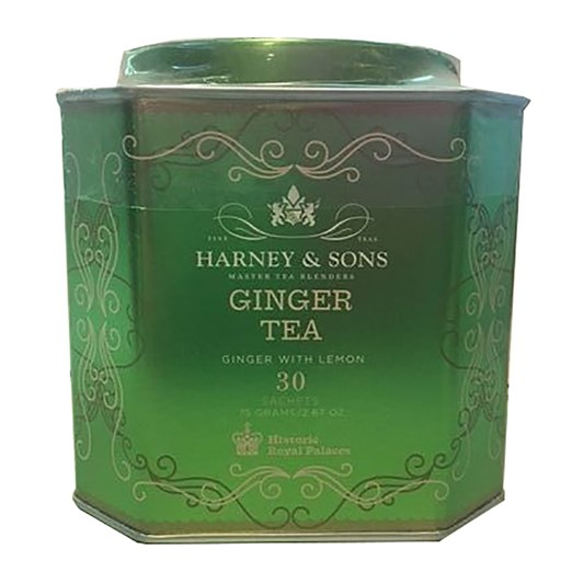 Harney & Sons HRP Ginger With Lemon Tin 30 Sachets