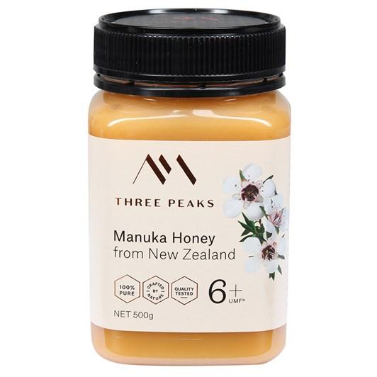 Three Peaks Manuka Honey UMF 6+ 500g