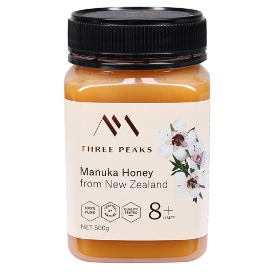 Three Peaks Manuka Honey UMF 8+ 500g