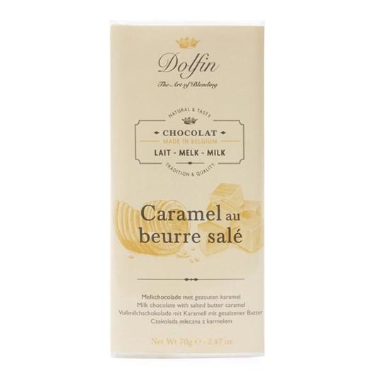 Dolfin Milk With Butterscotch Caramel 70g